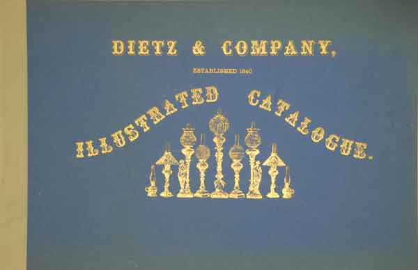 Dietz 1860 Catalog Cover Image