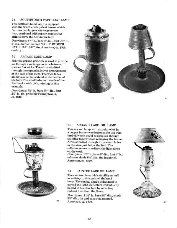 Page from Early Lighting Book