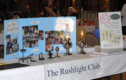 Photo of Rushlight Club Table at 2011 Somerset Show