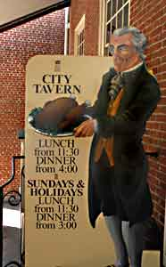 Photo showing City-Tavern Sign