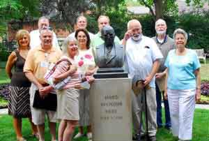 Rushlight Club Visits James Whitcomb Riley Museum